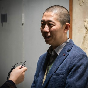 04 Li Xu, Director of the Office of Shanghai Biennale was interviewed by CAFA ART INFO