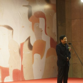 "05 The Opening of ""Between the Visible and Imagination"" Lu Fusheng Art Exhibition 290x290 - ""Between the Visible and Imagination"" Lu Fusheng Art Exhibition Grandly opened at Jiangsu Art Museum"