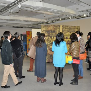 06 The Opening of Anthropology of Chance 290x290 - London-based artist Shezad Dawood makes his China debut at OCAT Xi'an