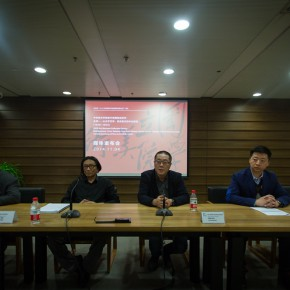 "06 View of the press conference 290x290 - ""Merging – From National Beiping Art School, Yan'an Luxun Academy of Literature and Art to CAFA (1946-1953)"" opened at CAFAM"