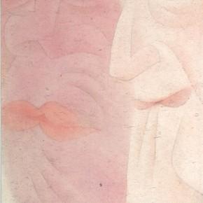 "07 Lu Fusheng ""Natural"" colored ink 252 x 120 cm 2014 290x290 - ""Between the Visible and Imagination"" Lu Fusheng Art Exhibition Grandly opened at Jiangsu Art Museum"