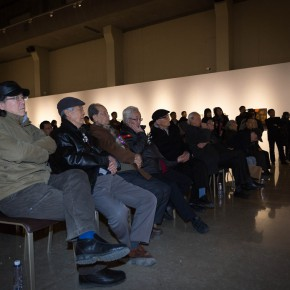 """07 View of the Opening ceremony and honored guests spoke 290x290 - """"Pursuit of Beauty–Wen Lipeng Works Exhibition"""" grandly opened at the Chinese Academy of Oil Painting"""