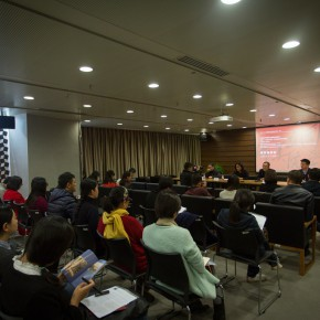 "07 View of the press conference 290x290 - ""Merging – From National Beiping Art School, Yan'an Luxun Academy of Literature and Art to CAFA (1946-1953)"" opened at CAFAM"