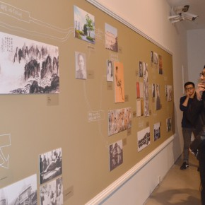 """08 Curator Xu Jia explained the exhibition for Su Xinping 290x290 - """"Modernity: Transmission and Alternation Three Asian Cases"""" Documenta opened at Today Art Museum"""