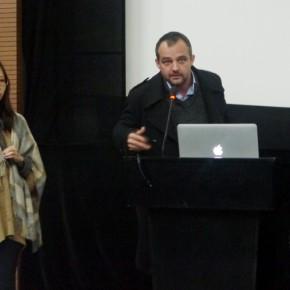 "08 Dutch artist Tutor Bratu 290x290 - ""The 3rd International Forum of New Media Art • Chronology of New Media Art"" Successfully Held in Sichuan Fine Arts Institute"