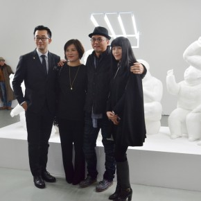 08 Group Photo of the guests 290x290 - Qu Guangci Solo Exhibition: Northernmost Country Unveiled at Today Art Museum