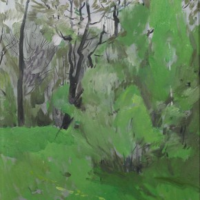 "09 Fomin P.T., ""Badal Mountainin the Spring"", oil on canvas, 42 x 35 cm, 1990"