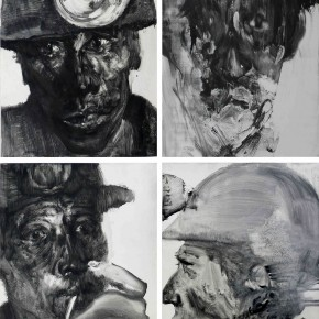 """12 Li Xiaolin """"The Survivors"""" lithography 100 x 80 cm 2010 290x290 - """"Face & Looks"""" Exhibition featuring works by Li Xiaolin opened at Dacheng Art Gallery"""