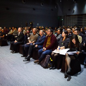 12 View of the press conference of the exhibition