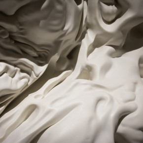 """14 Detail of """"morph"""" series of work by Zhan Wang 290x290 - The Conversion between Form and Shadow Crossing Dimensions: """"morph"""" by Zhan Wang Opened at Long March Space"""