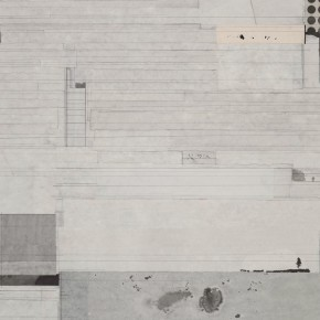 "14  Liang Quan, ""Small Eight Views of Xiaoxiang No.8"", 60 x 90 cm, 2013"