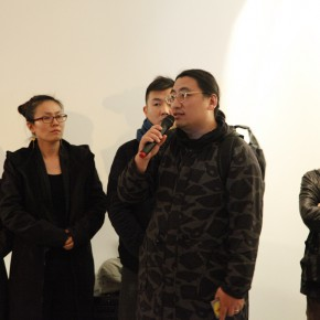 "16 Independent curator Li Zhenhua spoke 290x290 - From ""Knowledge"" to ""Practice"": ""Chronology of New Media Art"" Exhibition that opened in Sichuan Fine Arts Institute"