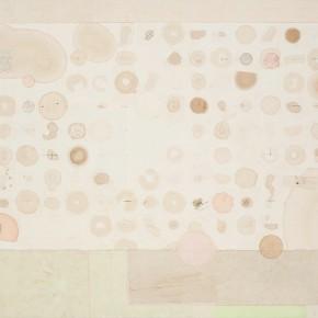 "16 Liang Quan ""My Diary of Tea 201301"" tea colors ink rice paper collage 80 x 100 cm 2013 290x290 - Liang Quan"