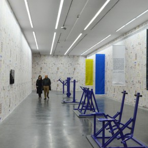 """18 Installation view of """"Polit Sheer Form Fitness for All"""" 290x290 - """"Polit-Sheer-Form: Fitness for All"""" Debuted at UCCA to Reconstruct the Socialist Collective Experience"""