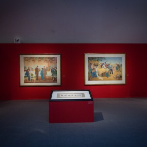 "20 Installation view of""Merging –From National Beiping Art School Yan'an Luxun Academy of Literature and Art to CAFA 1946 1953"" 290x290 - ""Merging – From National Beiping Art School, Yan'an Luxun Academy of Literature and Art to CAFA (1946-1953)"" opened at CAFAM"