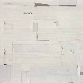 """21 Liang Quan """"Salute to Ni Zan"""" ink rice paper collage 90 x 120 cm 2013 290x290 - Liang Quan"""