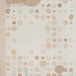 """24 Liang Quan """"Diary of Tea 201301"""" tea colors ink rice paper collage 100 x 80 cm 2013 290x290 - Liang Quan"""