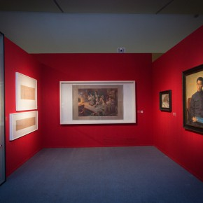 "27 Installation view of""Merging –From National Beiping Art School Yan'an Luxun Academy of Literature and Art to CAFA 1946 1953"" 290x290 - ""Merging – From National Beiping Art School, Yan'an Luxun Academy of Literature and Art to CAFA (1946-1953)"" opened at CAFAM"