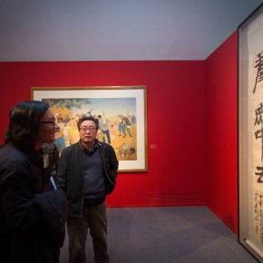 "29 Installation view of""Merging –From National Beiping Art School Yan'an Luxun Academy of Literature and Art to CAFA 1946 1953"" 290x290 - ""Merging – From National Beiping Art School, Yan'an Luxun Academy of Literature and Art to CAFA (1946-1953)"" opened at CAFAM"