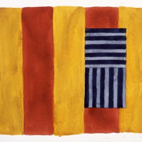 3.5.90 1990 Watercolor on paper 38 x 451 290x290 - The Major Retrospective Show of Sean Scully to be Presented at Shanghai Himalayas Museum