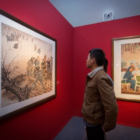 "31 Installation view of""Merging –From National Beiping Art School Yan'an Luxun Academy of Literature and Art to CAFA 1946 1953"" 290x290 - ""Merging – From National Beiping Art School, Yan'an Luxun Academy of Literature and Art to CAFA (1946-1953)"" opened at CAFAM"