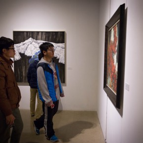 """32 Installation view of """"Pursuit of Beauty–Wen Lipeng Works Exhibition"""" 290x290 - """"Pursuit of Beauty–Wen Lipeng Works Exhibition"""" grandly opened at the Chinese Academy of Oil Painting"""