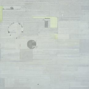 "32 Liang Quan ""SailingAfar"" two pieces ink colors rice paper collage on linen 200 x 140 cm x 2 2011 part 1 290x290 - Liang Quan"
