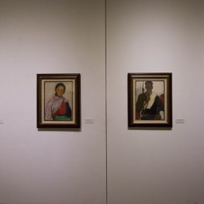"""36 Installation view of """"Pursuit of Beauty–Wen Lipeng Works Exhibition"""" 290x290 - """"Pursuit of Beauty–Wen Lipeng Works Exhibition"""" grandly opened at the Chinese Academy of Oil Painting"""