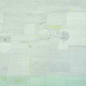 "36  Liang Quan, ""Space of Stars No.2"", 200 x 140 cm, 2011"