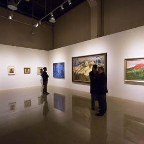 """37 Installation view of """"Pursuit of Beauty–Wen Lipeng Works Exhibition"""" 290x290 - """"Pursuit of Beauty–Wen Lipeng Works Exhibition"""" grandly opened at the Chinese Academy of Oil Painting"""