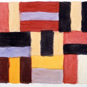 4.8.99 1999 Watercolor on paper  38.1 x 45 290x290 - The Major Retrospective Show of Sean Scully to be Presented at Shanghai Himalayas Museum