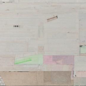 """41 Liang Quan """"Go off to Tea"""" tea color ink rice paper collage 90 x 120 cm 2011 290x290 - Liang Quan"""
