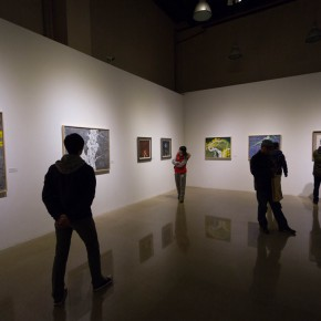 """44 Installation view of """"Pursuit of Beauty–Wen Lipeng Works Exhibition"""" 290x290 - """"Pursuit of Beauty–Wen Lipeng Works Exhibition"""" grandly opened at the Chinese Academy of Oil Painting"""