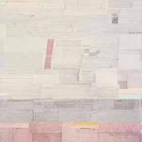 "44 Liang Quan ""SailingAfar Triptych No.1"" ink colors rice paper collage on linen 200 x 150 cm 2010 290x290 - Liang Quan"