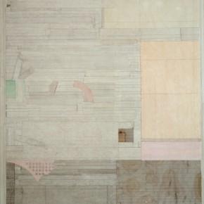 """47 Liang Quan """"SailingAfar"""" ink colors rice paper collage on linen 200 x 150 cm 2010 290x290 - Liang Quan"""