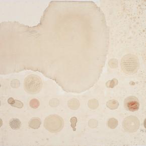 """69 Liang Quan """"Memories of Tea No.1"""" tea colors ink rice paper collage 45 x 53 cm 2008 290x290 - Liang Quan"""