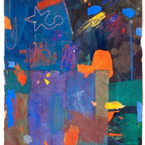 """76 Liang Quan """"Chinese Album No.8"""" colors ink rice paper mixed techniques 44 x 34 cm 1992 290x290 - Liang Quan"""