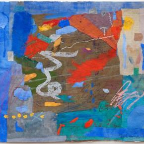 """78 Liang Quan """"Chinese Album No.6"""" colors ink rice paper mixed techniques 34 x 44 cm 1991 290x290 - Liang Quan"""