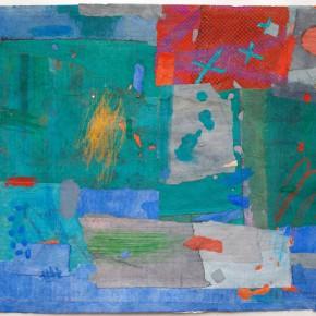 """79 Liang Quan """"Chinese Album No.5"""" colors ink rice paper mixed techniques 34 x 44 cm 1991 290x290 - Liang Quan"""
