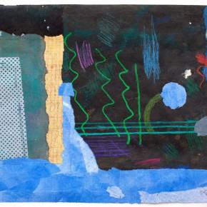 """80 Liang Quan """"Chinese Album No.4"""" colors ink rice paper mixed techniques 34 x 44 cm 1991 290x290 - Liang Quan"""