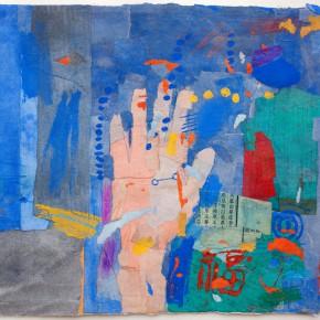 """81 Liang Quan """"Chinese Album No.3"""" colors ink rice paper mixed techniques 34 x 44 cm 1991 290x290 - Liang Quan"""