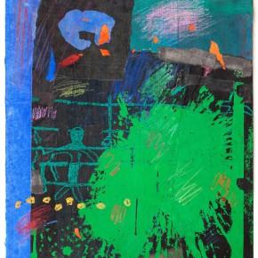 """82 Liang Quan """"Chinese Album No.2"""" colors ink rice paper mixed techniques 44 x 34 cm 1991 290x290 - Liang Quan"""