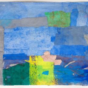 """83 Liang Quan """"Chinese Album No.1"""" colors ink rice paper mixed techniques 34 x 44 cm 1991 290x290 - Liang Quan"""