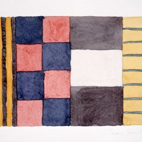9.13.93 1993 Watercolor on paper 38.1 x 451 290x290 - The Major Retrospective Show of Sean Scully to be Presented at Shanghai Himalayas Museum