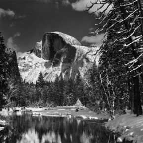 Ansel Adams Half Dome 1938 23.4x18.5cm 290x290 - Journey of the Heart: Exhibition of Straight Photography Original Print 1839-2014 Presented by the National Art Museum of China
