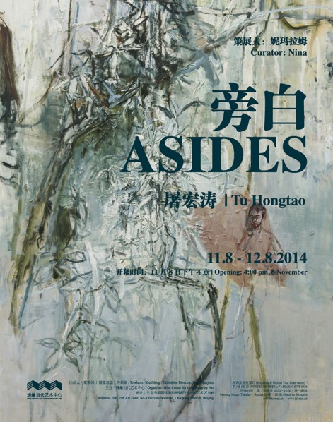 Poster of Asides Tu Hongtao Solo Exhibition