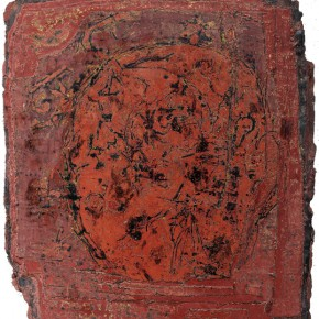 "Tian Guoqiang Fossil 132x155cm 290x290 - The National Art Museum of China presents ""Lacquer Arts – 2014 Cross-Strait Lacquer Arts Exhibition"""