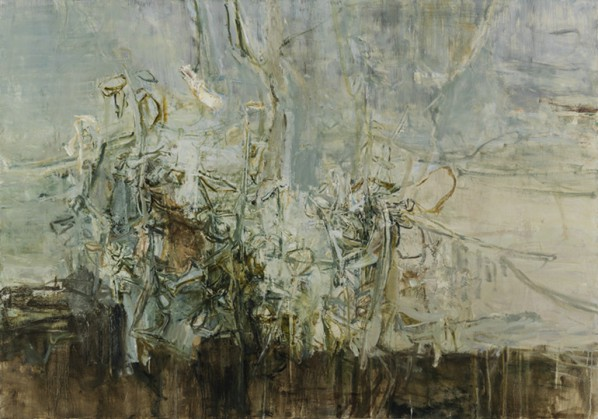 Tu Hongtao, Song of Offwhite Disposition, 2014; Oil on canvas,  120X170cm