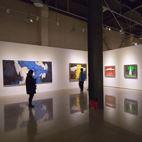 """Pursuit of Beauty–Wen Lipeng Works Exhibition"" grandly opened at the Chinese Academy of Oil Painting"