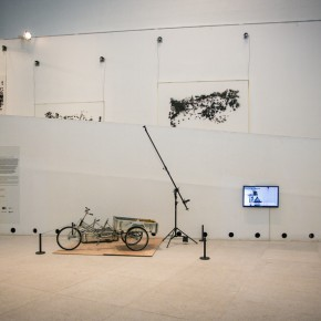 """01 Installation view of Czech artist Federico Díaz's solo exhibition """"The Welded Ornament of the Times"""" 290x290 - New Topic on Machine Aesthetics: Federico Díaz's """"The Welded Ornament of the Times"""" debuted at CAFA Art Museum"""